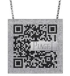 QR Code designer jewelry for a fashion statement. http://ddx-media.com