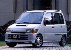 Daihatsu Move SR (L602S) '08.1995–09.1998 Kei Car, Ac Schnitzer, Daihatsu, City Car, Japanese Cars, Old Cars, Jdm, Toyota, Vehicles