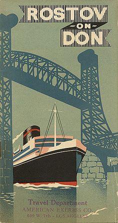 """Rostov on Don"" tourism brochure; circa 1935"
