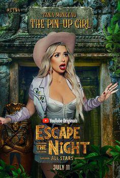 Escape the Night poster, t-shirt, mouse pad Escape The Night, Gang Up, Youtube Original, Ricky Dillon, Joey Graceffa, Jc Caylen, Joe Sugg, Tyler Oakley, Shane Dawson