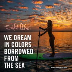 We dream in colors borrowed from the sea. #LiveTheSaltLife Photo by : Perrin James
