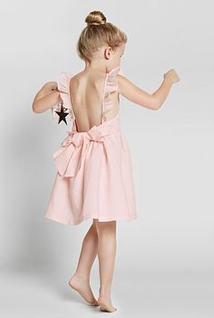Backless Bow Dress | Dresses
