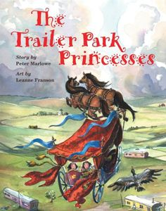 The Trailer Park Princesses by Pete Marlowe http://www.amazon.com/dp/1550376160/ref=cm_sw_r_pi_dp_1klVtb04BFX6STMX