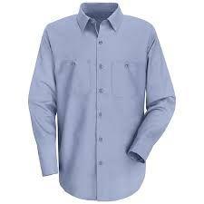 100% Cotton-Used Work Shirt