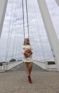WHITE BY THE BRIDGE