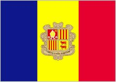 The Flag Of the Andorra