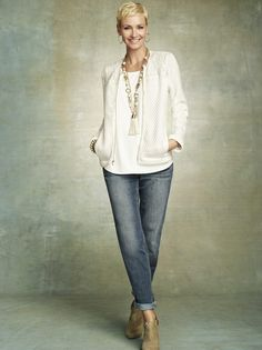 From Chicos. Love this casual look!