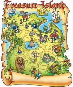 Treasure Map - 200 piece jigsaw puzzle - PuzzleWarehouse.com