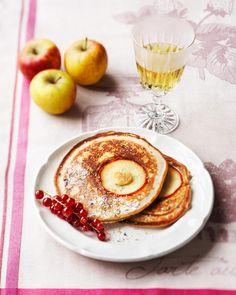 Pancakes Rezept - SONNENTOR.com Chai, Flower Power, Pancakes, Brunch, Healthy Recipes, Breakfast, Ethnic Recipes, Food, Cooking