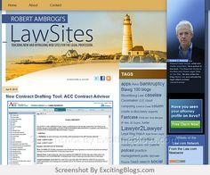 Robert Ambrogis LawSites - Click to visit blog:  http://1.33x.us/uAUm6g