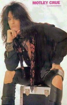 Mötley Crüe's Nikki Sixx '89