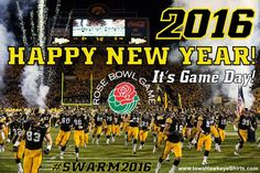 1/1/16: Happy New Year Hawkeye Fans! Beat Stanford in the Rose Bowl today!