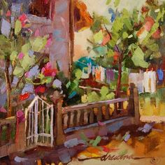 Come Home to Tuscany, painting by artist Dreama Tolle Perry
