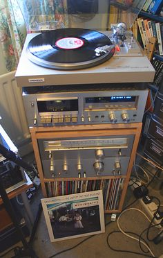 Last of the True Believers Audio Music, Hifi Audio, Retro Record Player, Audio Stand, Audio Rack, Radios, Hi Fi System, Old Technology, Vinyl Junkies