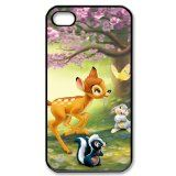 Disney Bambi iPhone 4/4s Fitted Case Hard iPhone 4/4s Case , iPhone cases