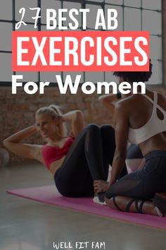 Easily the best abs workout I've tried! The exercises are great to get a flat stomach and I find they are perfect for a busy stay at home Mom like me. If you want to get some good abs then you have to try this out #abs #workout #stomach #exercises #homeworkout 5 Minute Abs Workout, Best Ab Workout, Abs Workout Routines, Abs Workout For Women, At Home Workouts, Oblique Crunches, Stomach Exercises, Burn Belly Fat Fast, Best Abs