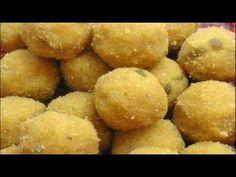 Besan Ladoo - North Indian Recipe
