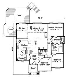 Comfortable home with a large rear deck & HOT TUB! - plan 065D-0184 - houseplansandmore.com