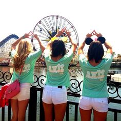 Nothing quite like a day at the happiest place on earth! Especially in such cute tops! #disneyland #axo #thesociallife @Stephanie Hecht Cal Poly