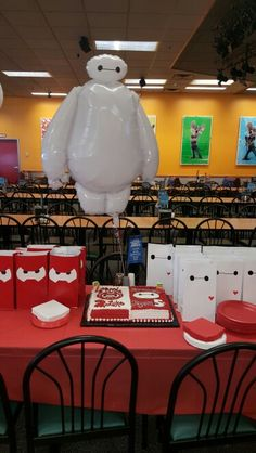Boys Big hero six party 6th Birthday Parties, 7th Birthday, Big Hero 6 Party Ideas, Big Heroes, Big Hero 6 Baymax, Disney Cars Birthday, Projects For Kids, Party Time, Birthdays