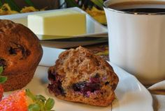 Banana/Blueberry or Chocolate Chip muffins-Gluten free!