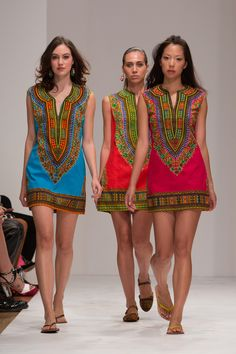 Judith & James tunics. Made by Kenyan women. Available at Tulips in Little Rock
