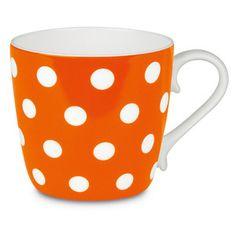 Polka Dots Mug Black, 12€, now featured on Fab.
