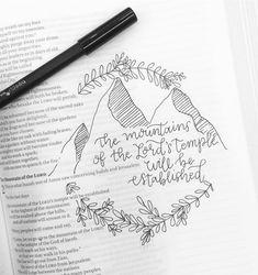Scripture calligraphy
