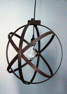 Modern Spherical Light/ Entryway Light/ Chandelier/ by BlueOxHome, $105.00