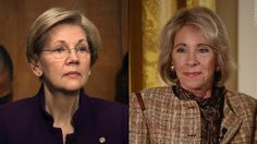 Senator Elizabeth Warren argues that Secretary of Education Betsy DeVos is not acting in the best interests of students, and so she is launching DeVos Watch, an online initiative to track every step the Department of Education takes.