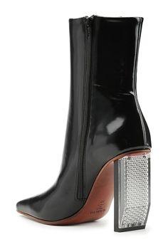 Ankle Boots aus Leder mit Reflektor - Vetements | WOMEN | DE STYLEBOP.COM