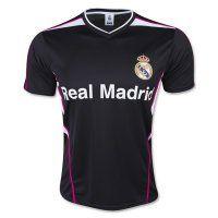 Real Madrid C.F 2015-2016 Season Black Training Shirt [B311]