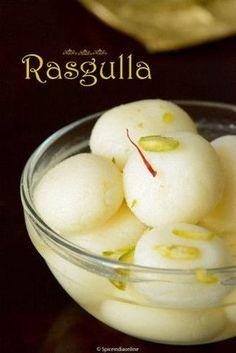 RASGULLA RECIPE - HOMEMADE RASGULLA - BENGALI SWEETS — Spiceindiaonline