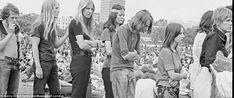 Festival at Hyde Park, 1970.