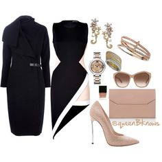 """@Queen B Enterprises"" by bambimontgomery on Polyvore"