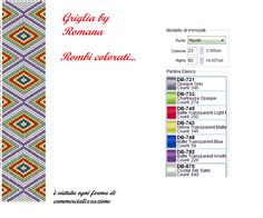 griglia+Rombi+colorati.png 723×603 pixels