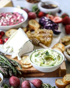 A Late Spring Cheese Board with Beet Whipped Feta. - How Sweet Eats Memorial Day, Charcuterie Plate, Whipped Feta, Cold Appetizers, Avocado, Food Platters, How Sweet Eats, Beets, A Food