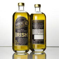 Uisce Beatha Real Irish Whiskey Wins GOLD at Los Angeles International Craft Spirits Competition Best Rye Whiskey, Scotch Whiskey, Bourbon Whiskey, Irish Eyes Are Smiling, Alcohol Bottles, Wine And Liquor, Distillery, Whiskey Bottle, Beverages