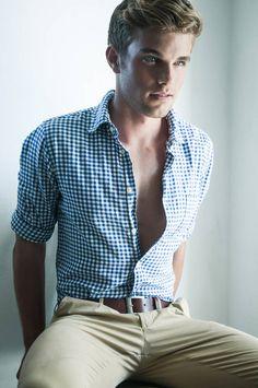 Andrew Steinmetz - checkered shirt