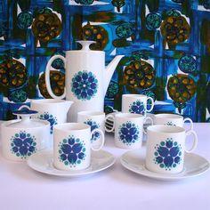 Vintage Thomas of Germany Sunflower Coffee Set