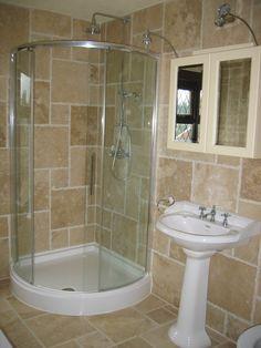 Bathroom:Innovative Small Bathroom Corner Shower With Image Of Small Bathroom…