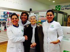 Peñi y su tienda Tejidos Hernández son el icono de La Plazuela!!!! Gracias por visitarnos!!! Feliz Navidad!!!!