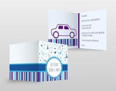 #Einladungskarten #Birthday #Card #blue #boy #individuell