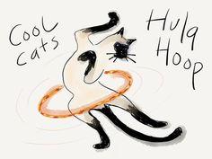 Cool Cats Hula Hoop!