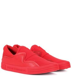 Y-3 Sunja Slip-On Sneakers. #y-3 #shoes #sneakers