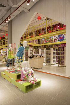 Paris Kids department by Dalziel and Pow, Santiago   Chile store design