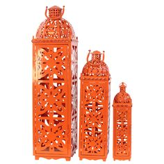 Moroccan lanterns add an extra bit of flare to your home decor. These are great because they can be used indoors or outdoors and come in a variety of bright colors!