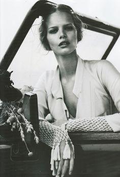 Vintage picture... Incluso hoy lo que lleva está de moda