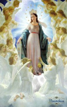 link to art gallery with paintings of the Assumption of the Virgin Mary into Heaven