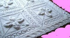 Babies Cot Cover/Blanket knitting pattern by knittingpatterns4you, £2.50